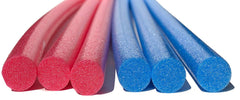"Solid Core Extra Long 60"" Swim Noodles 6 Pack Deluxe Solid Core Foam Noodles"