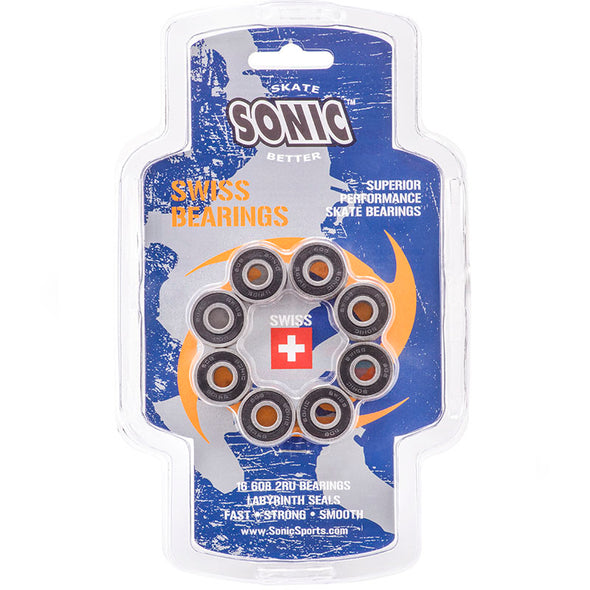 Sonic Swiss Bearings 16 Pack