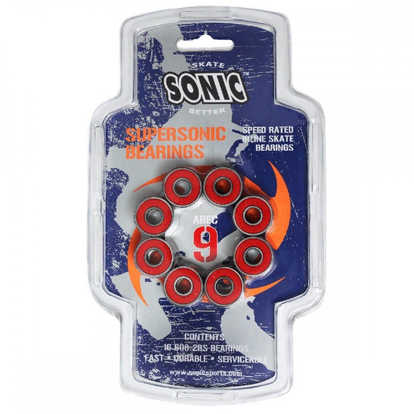 Sonic Sports ABEC 9 Supersonic Bearings - Good Gear Hockey Equipment