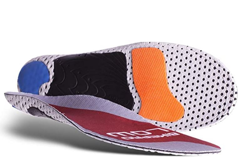 Currex Bike Pro Foot Insole Low Arch (For Road, Mountain Biking, and Triathlon)