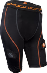 Shock Doctor 366 Core Compression Hockey Shorts with Pelvic Protector Womens - Good Gear Hockey Equipment