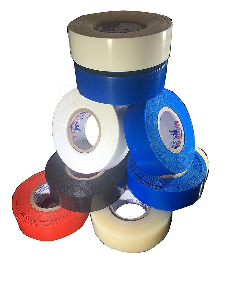 3 Pack Sports Tape Shin Guard Tape Colors - Good Gear Hockey Equipment