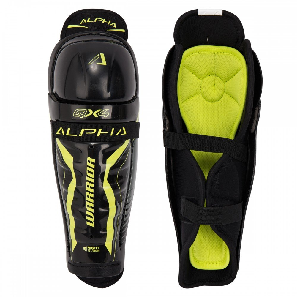Warrior Alpha QX4 Junior Hockey Shin Guard