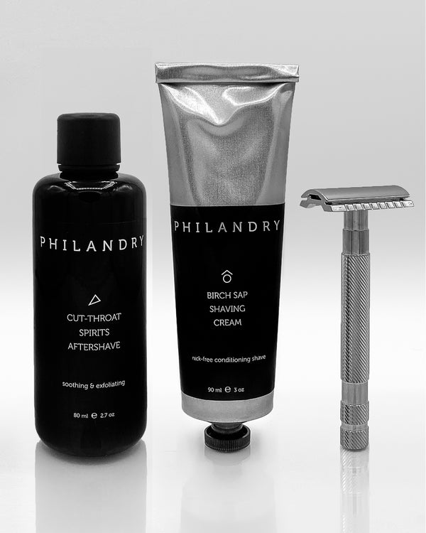 Men's Shaving Gift Set from PHILANDRY