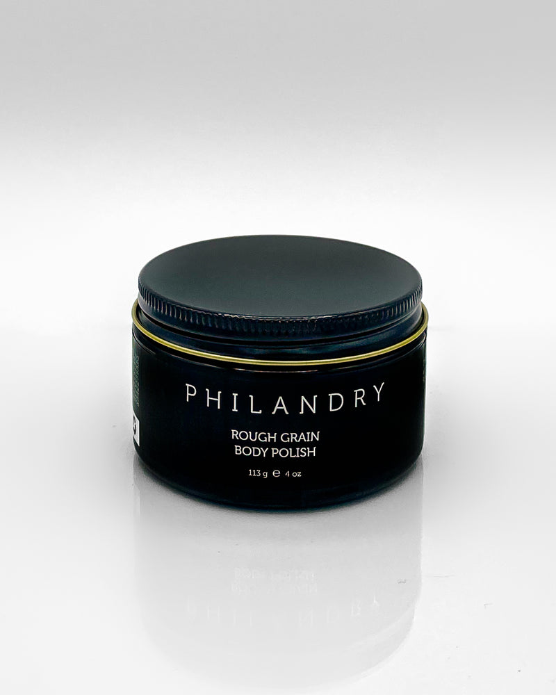 Natural Body Scrub Exfoliation Exfoliator for Men Polish PHILANDRY