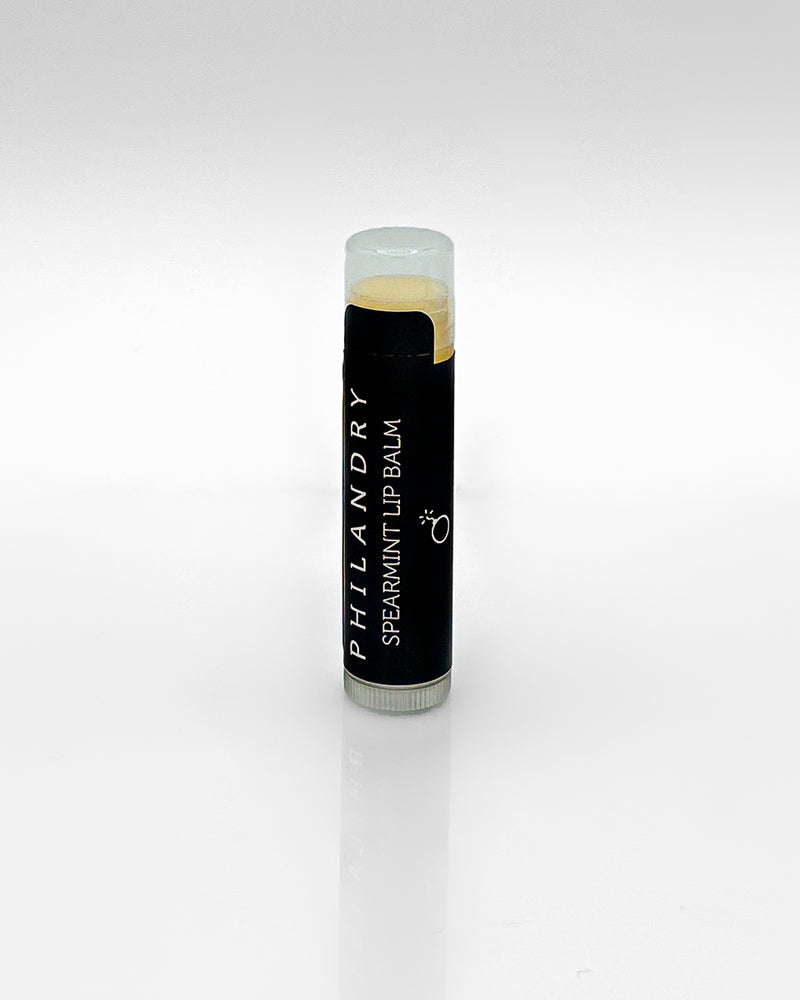 Organic Lip Balm Spearmint for Men PHILANDRY