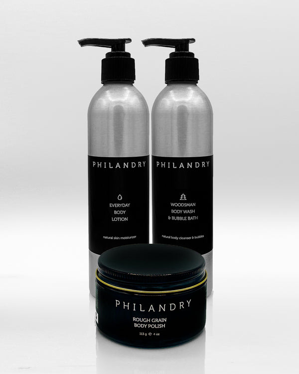 Personal Care Body Products Gift Set for Men PHILANDRY