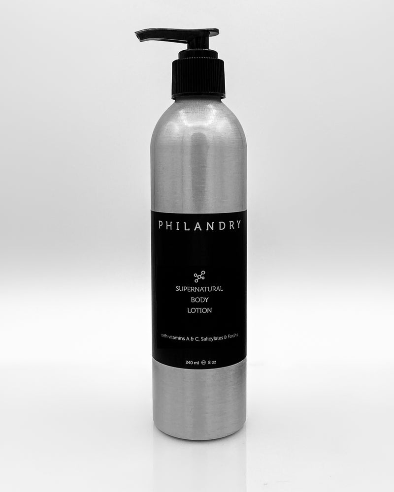 Super Natural Body Lotion for Men PHILANDRY