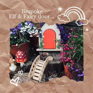 Bespoke Elf and Fairy door