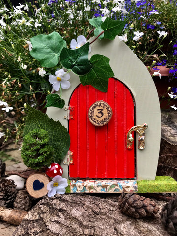 Little Red fairy door