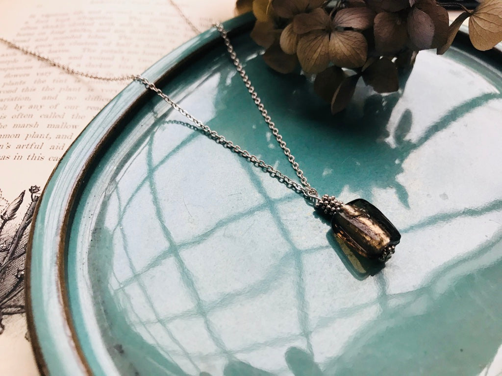 Square drop pendant