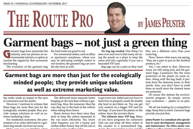 Garment Bags - More Than Just an Environmental Solution