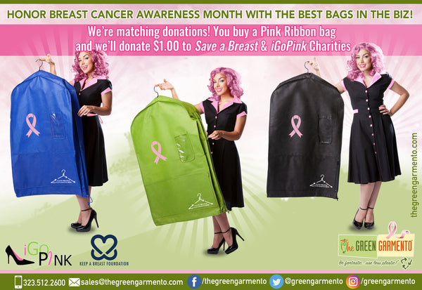 The Green Garmento - Breast Cancer Awareness Month