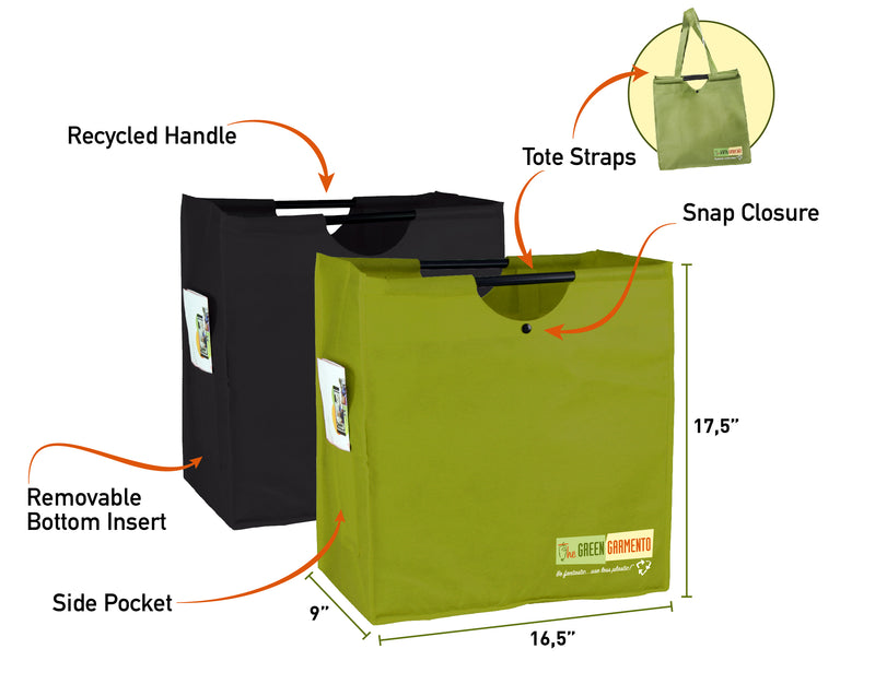 Box Bag Reusable Tote