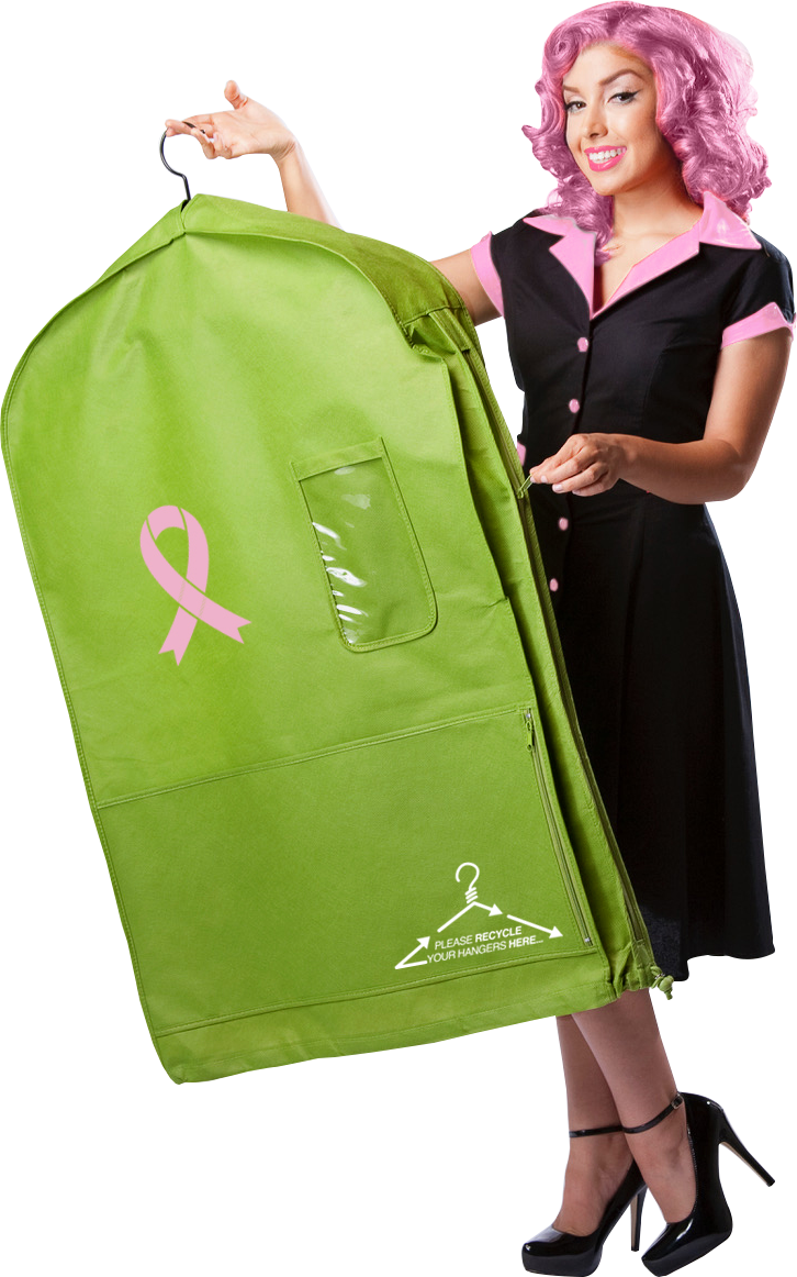 Pink Ribbon Deluxe Pouch Bag - As Seen on Shark Tank!