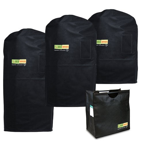 Eco-Chic Black 4 Pack