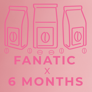 Fanatic- 6 month paid subscription-Rotating-Neon Coffee Company