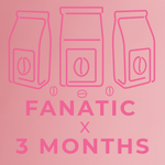 Fanatic- 3 month paid subscription-Rotating-Neon Coffee Company