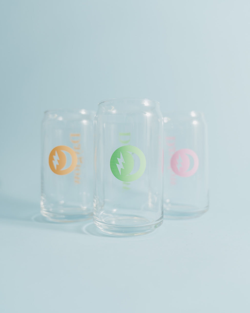 Dayglow Logo Glass Can