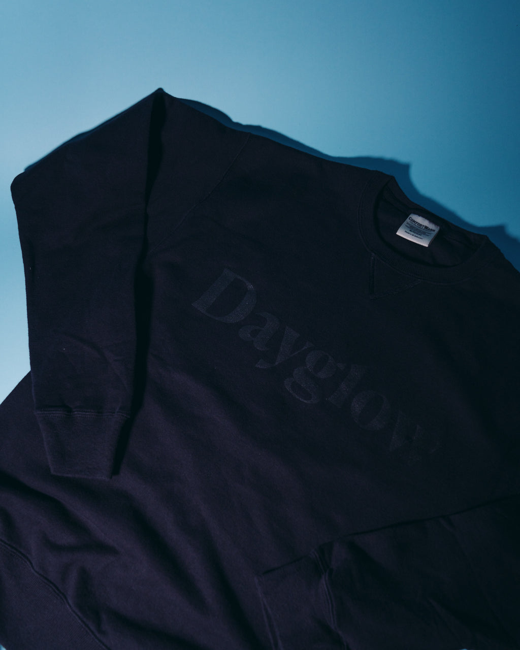 Dayglow Crewneck- Black