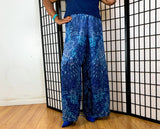 Nakidbird-Wide Leg High Waist Chiffon Pant-[handmade plus sized fashion]-free shipping-Nakidbird
