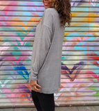 Nakidbird-Long sleeve turtleneck knit sweater-XS-5X-[handmade plus sized fashion]-Nakidbird