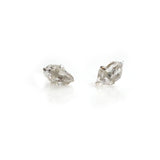 Raw Herkimer diamond Birthstone Studs