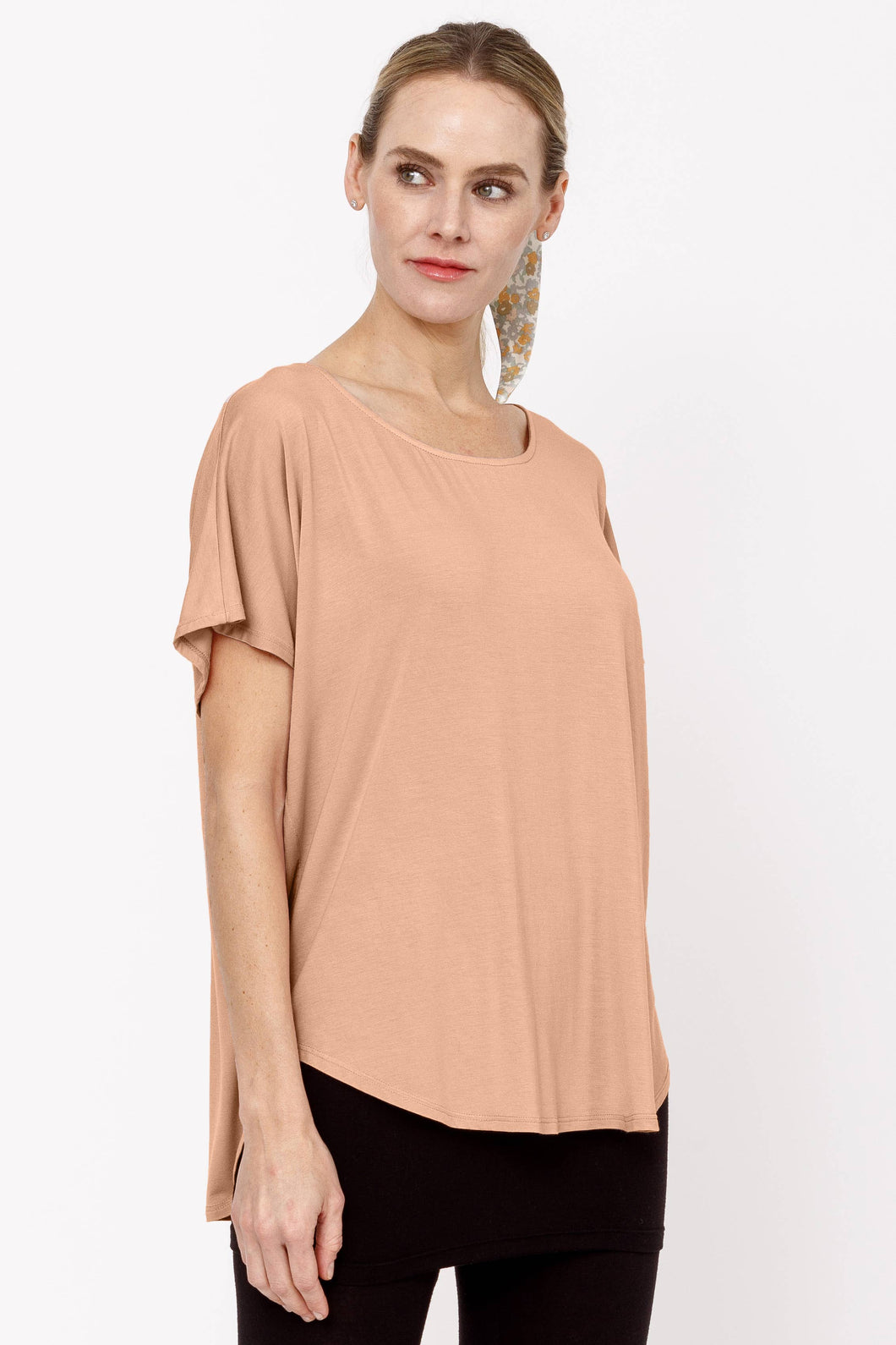 BAMBOO CASUAL DOLMAN SLEEVE TOP