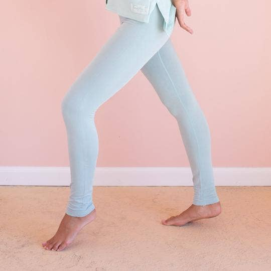 Faceplant Bamboo® Leggings - Aqua