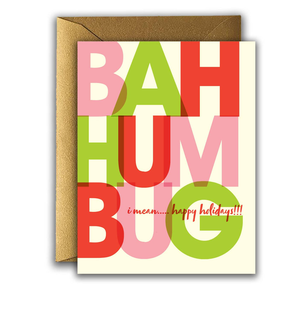 Offensive + Delightful - HOLIDAY BAH HUM BUG