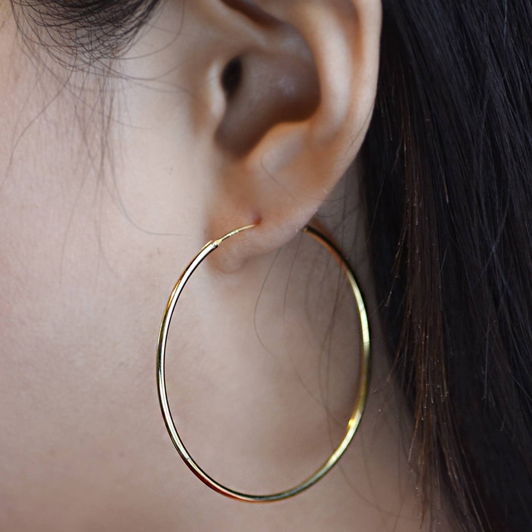 Extra Large Hoop Earrings