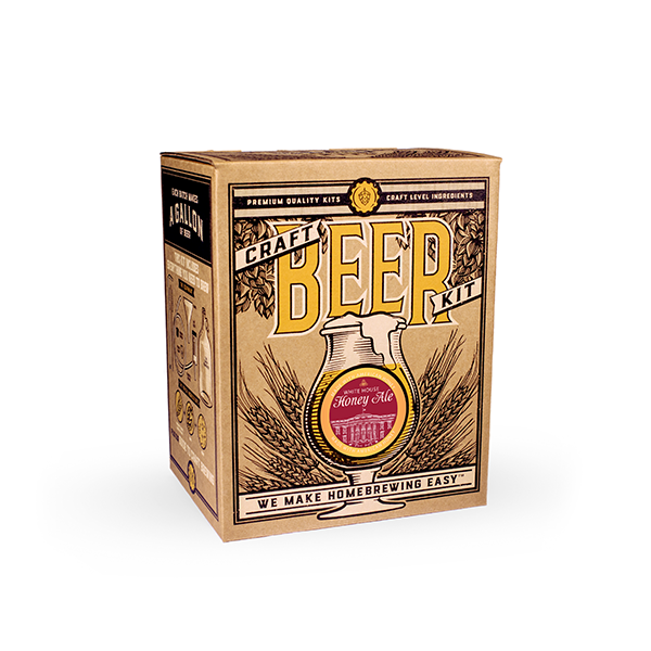 White House Honey Ale Brewing Kit