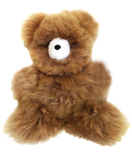 "7"" Micro Alpaca Stuffed Animal - Bear"