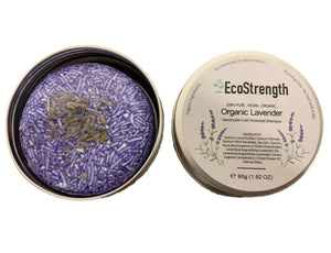 Organic Lavender Essential Oil Shampoo Bar