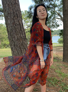 Sewing New Futures, Inc - Vintage Sari Kimono