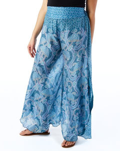 Sewing New Futures, Inc - Blue Palazzo Pants