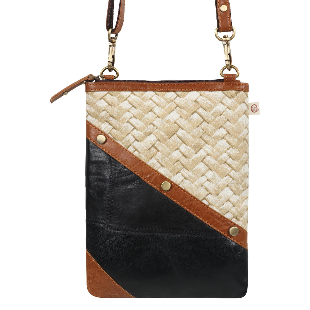 Brisk Kate - Upcycled Genuine Leather