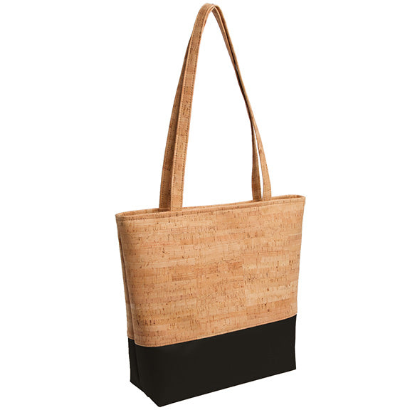 Natalie Therese - Be Basic Tote Bag | Rustic Cork