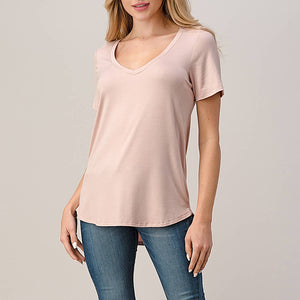 Deborah Eco V-neck Tee