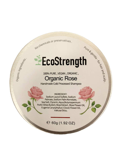 Organic Rose Essential Oil Shampoo Bar