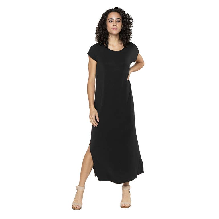 Charlotte Cap Sleeve Maxi Dress