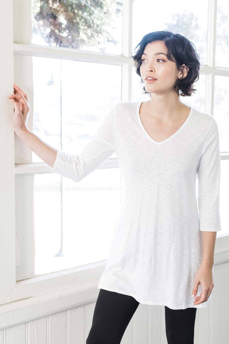 ESSENTIAL SLUB TUNIC