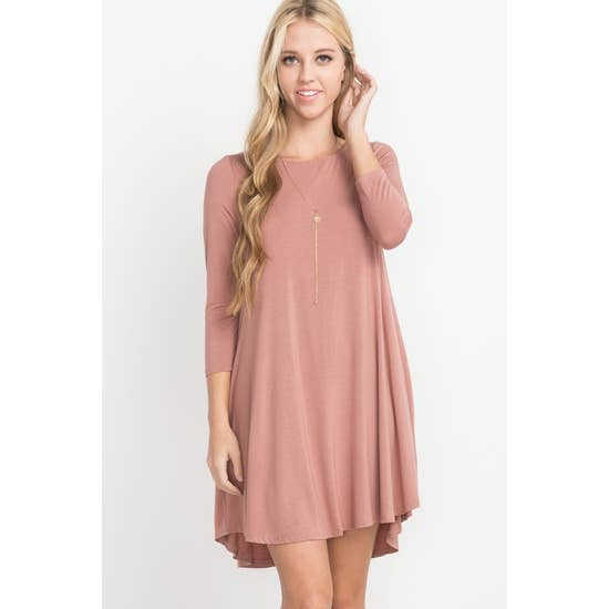 Anna Bamboo Pocket Dress