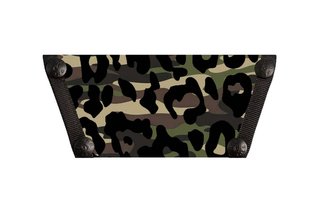 Camo Leopard Interchangeable Shoe Top