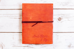 "Soothi | Containers Of Creativity - ""But Still I Rise"" Handmade Leather Journal"