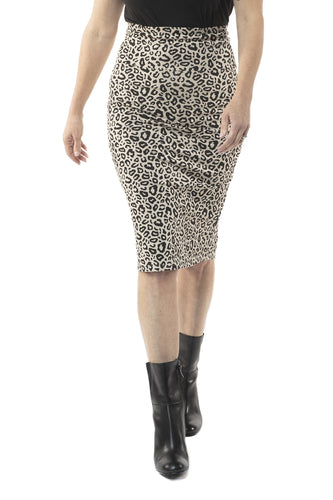 Geneva Midi Pencil Skirt