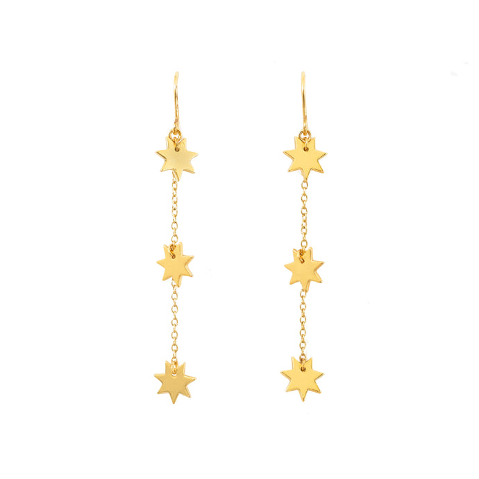 Night Sky Threader Earrings