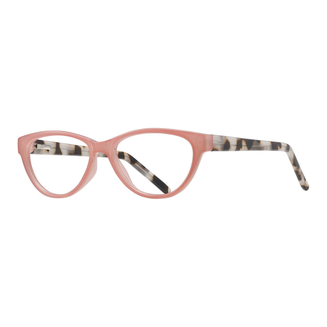 Blue Planet Eco-Eyewear - Luci - Rose / Tortoise + Blue Light Filtering Lens