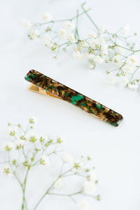 Long Alligator Clip - Spruce