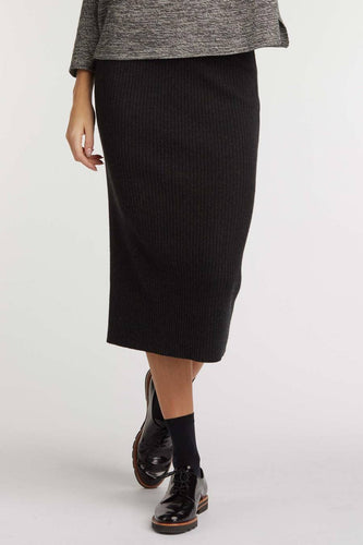 Rib Knit Skirt - Good Aura LLC